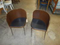 Good set of Bentwood chrome leg chairs. Great health