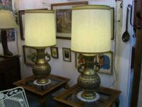 These lovely, enormous lamps are excellent cornerpieces