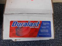 Pair of Duralast Brake Drums  New in box   Can be seen