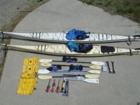 Pair of Fiberglass Sea Kayaks + all the Extras Two