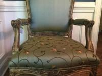 Louis XIV French Bergere chairs in great condition.