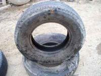 Nice pair of LT 245 75 16 tires 1/3 Tread left 5 to