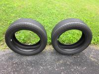 Here is a set (2) of goodyear tires. They are both in