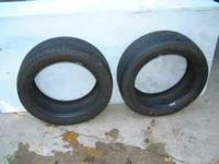 215-50-R17-93V TREAD IS 90% OF NEW!! $50.00 OR BEST