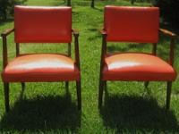 I am selling this matching pair of mid century modern