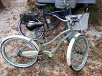 I have 2 Beach Cruiser bikes for sale. Mens and Womens.