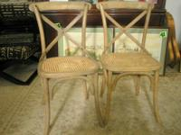 "TREASURES ITEM #17708  These chairs are 35"" tall to the"
