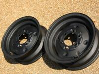 "For Sale : One pair of 16"" rear wheels for Power King"