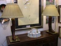 These lamps were originally sold at Maxwell on Dover