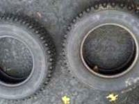 I am selling a pair of studded snow tires. They are