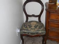 Set Of 6 Antique Victorian Eastlake Carved Diningroom