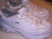 Pair of womens Skechers D'Lites size 6.5. Good