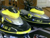 reat offer on 2 extremely clean Sea-Doo Xp's. These