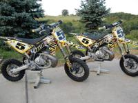 Selling pair of Metrakit 50 CC (Bud Maimone) race bikes