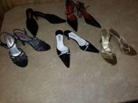 Cloth/Shoes/Accessories: Women Footwear 5 ladies pair