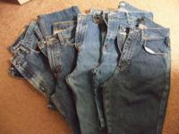 These are size 10 average Ladies jeans that are in very