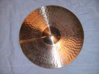 "Hi. Here is a wonderful example of a 16"" Paiste Full"
