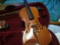 nice full size violin-- model vn650--- nice upgrade