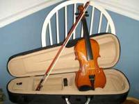 New Palatino VN 750 3/4 Violin with Deluxe Hardshell