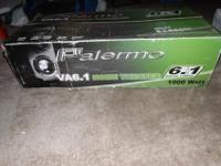 PALERMO VA 6.1 SPEAKERS! 1000 WATTS- They're in mint