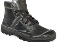 Utilitarian style with rugged appeal. Keep in step with