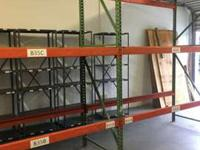 Pallet Racking for Pallets of Chicken, Fish, Produce,