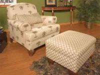 Gorgeous and very comfortable chair with matching