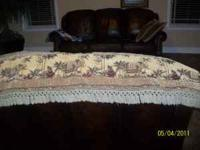 pillows $7 each, valances $12 for both,or $35 for