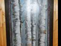 "Original Pam Dull painting . This ""Birch Tree"" Painting"