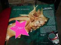"PAMELA ANDERSON ""SIGNED"" BOOK ""STAR"" fabulous photo"