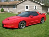 Check out this pampered Beautiful Red 1996 WS6 RamAir