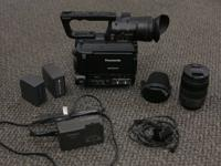 PANASONIC AF100. Original owner, video camera in great