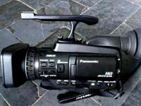 Hd video cmera Panasonic AG-HMC40P like new ...all you
