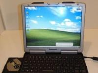 A very nice CF-29 Panasonic Toughbook Is missing the AC