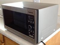 Panasonic NN-SD377S microwave, 10.5 amp, 120 volt,