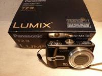 Panasonic DMC-TZ3 digital camera, in excellent
