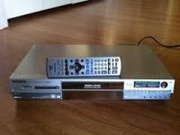 Panasonic DMR-E95H DVR/DVD Recorder For PARTS Problem: