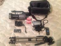 I have a AG DVX100b Panasonic 3CCD video camera for