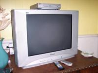 Gently used: Panasonic silver, 27-inch CT-27SL13G Tau