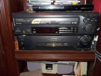Panasonic Laser Disc Player & Laser Discs (51) with