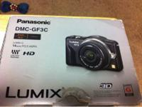 I have for sale a Panasonic Lumix GF3 HD and 3D camera.