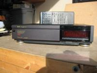 Panasonic S-VHS Recorder model AG1830