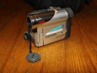 Up for sale is a Panasonic PV-DC152 mini-dv camcorder.