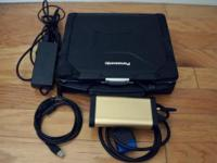 Panasonic Toughbook CF-30, Touchscreen (use a finger or
