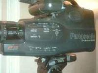 Description Panasonic VHS Camcorder 150 full size 8x