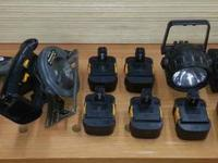Panasonic 15.6 volt NiMH Cordless Tools Have been used,