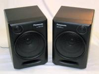 Panasonic RX-DT610 Boombox Speakers with Front & Rear