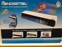 Pandigital Personal Photo Scanner model #PANSCNO6 New,