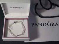 For sale is the PANDORA Sterling Silver bracelets.