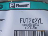 PANDUIT CORP FVT2X2YL FIBER-DUCT Routing System FITTING